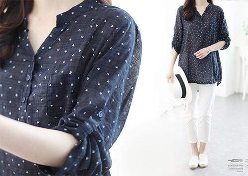 B109 BL4501 / Armchain China脖子女人衬衫(订购失控!)